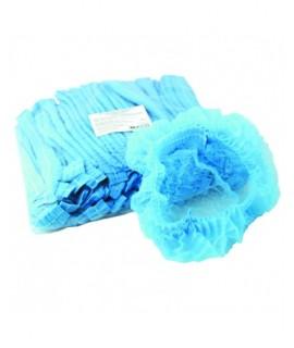 Шапочки шарлотки 50 шт голубые