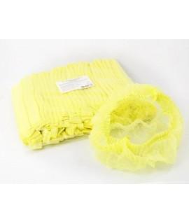 Шапочки шарлотки 50 шт желтые